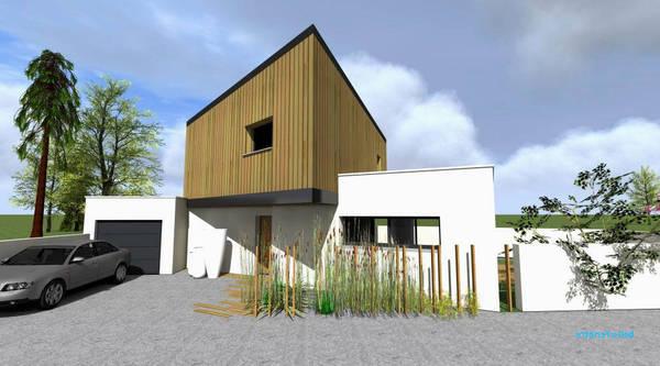 traitement de façade en bois